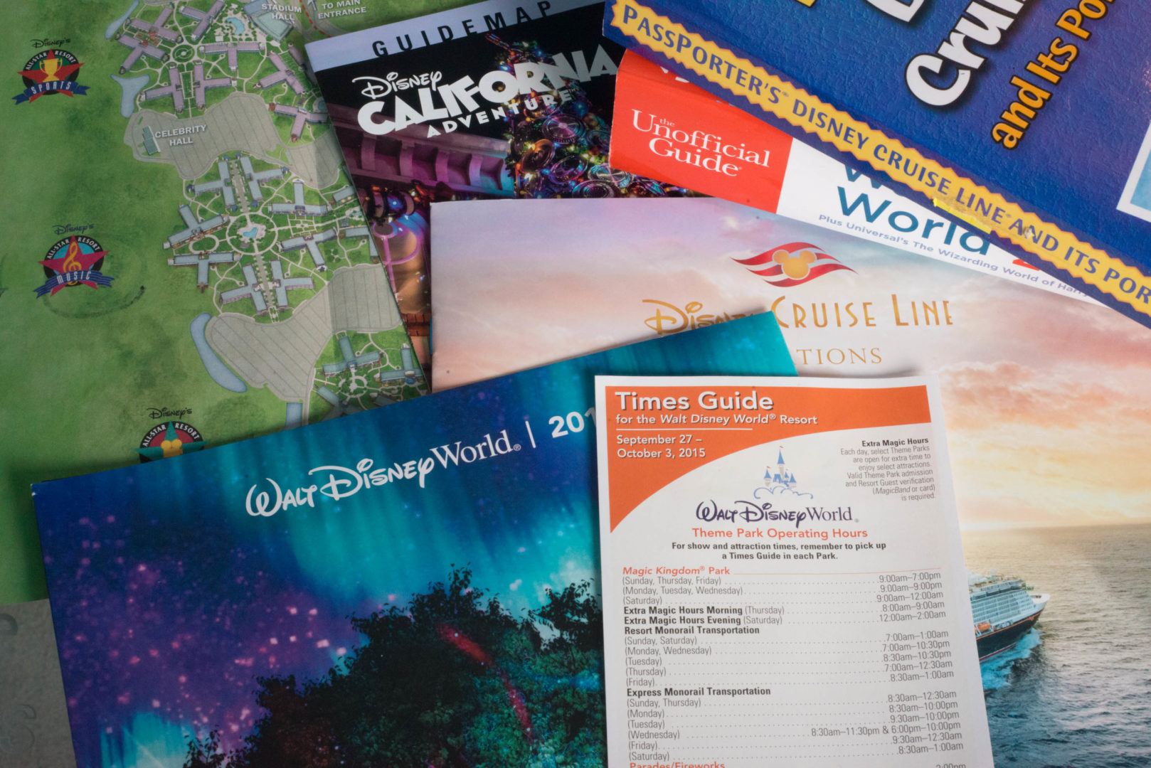 Top 8 Disney Guidebooks and E-Books To Help Plan Your Vacation