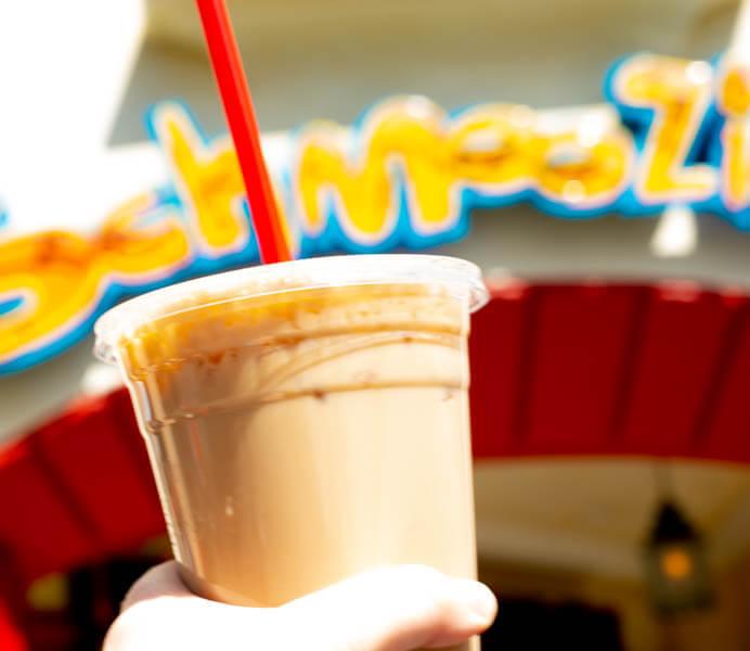 Schmoozies Iced Coffee California Adventure Disneyland