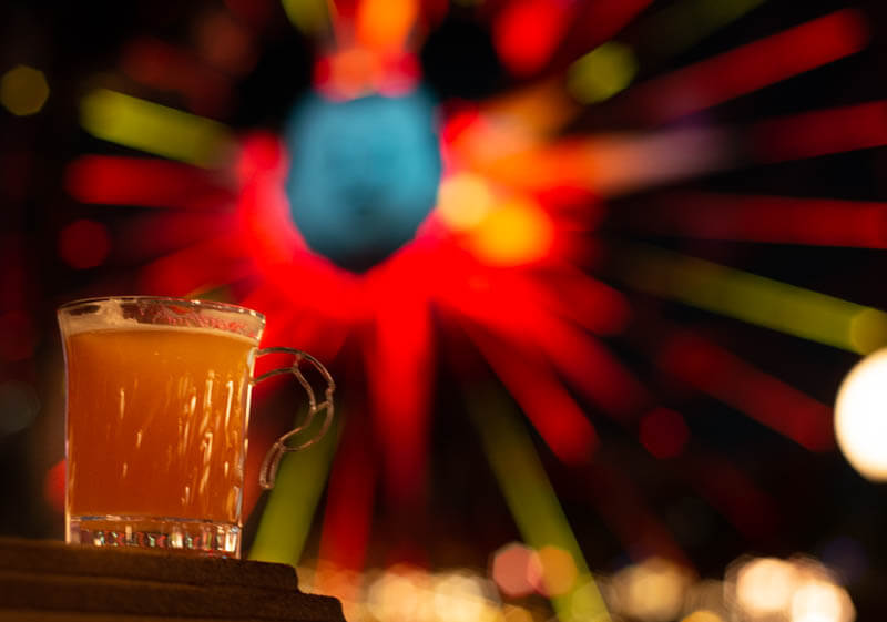 Warm Bourbon Cider from Festival of Holidays in Disneyland