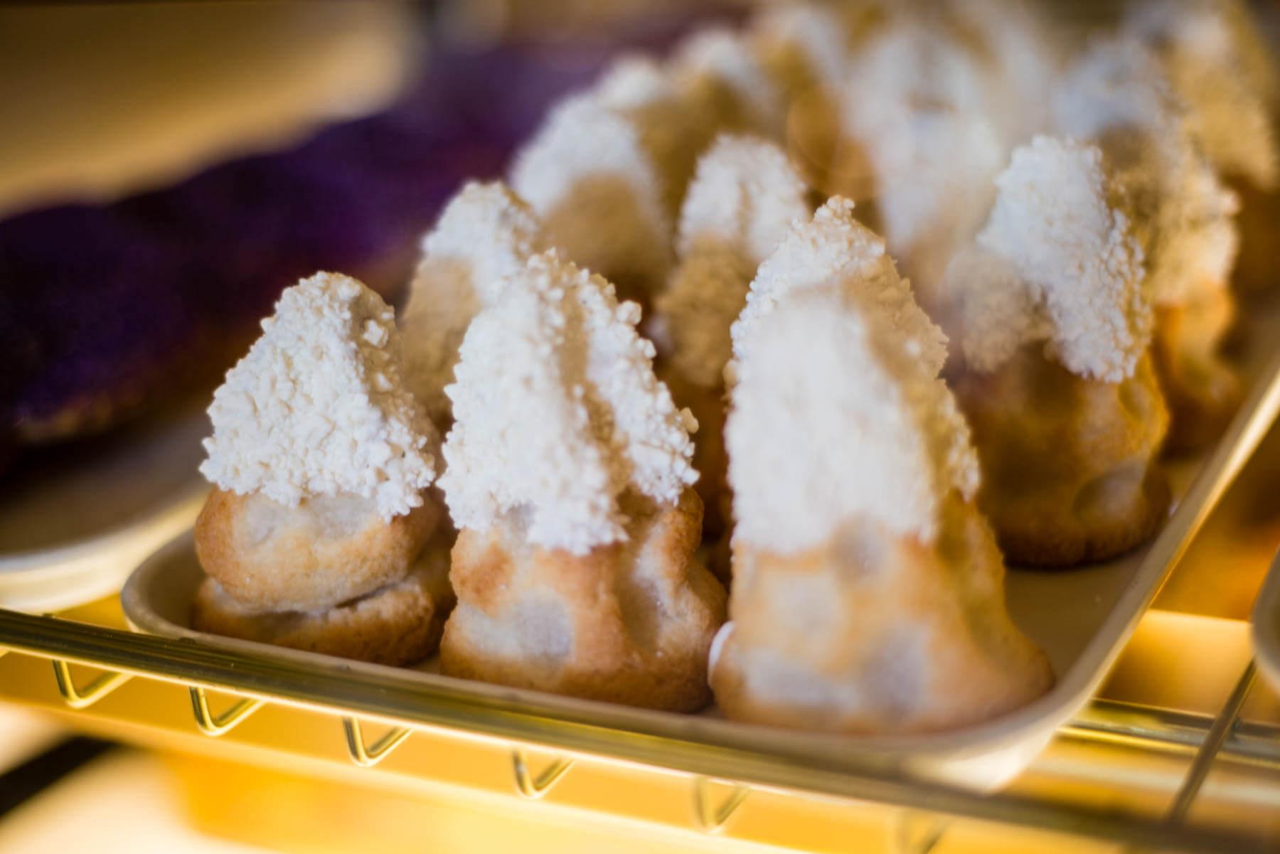 Tray of Matterhorn Macaroon's from Jolly Holiday Bakery Disneyland