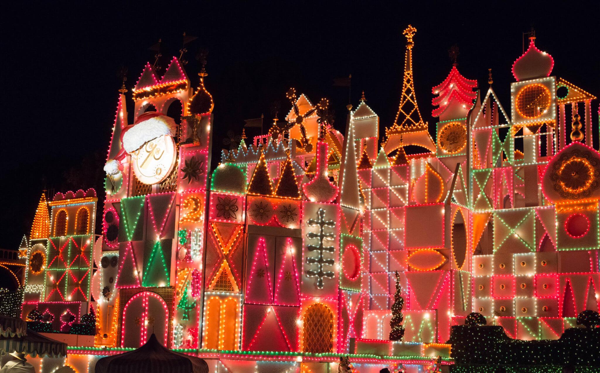 it's a small holiday overlay - Disneyland