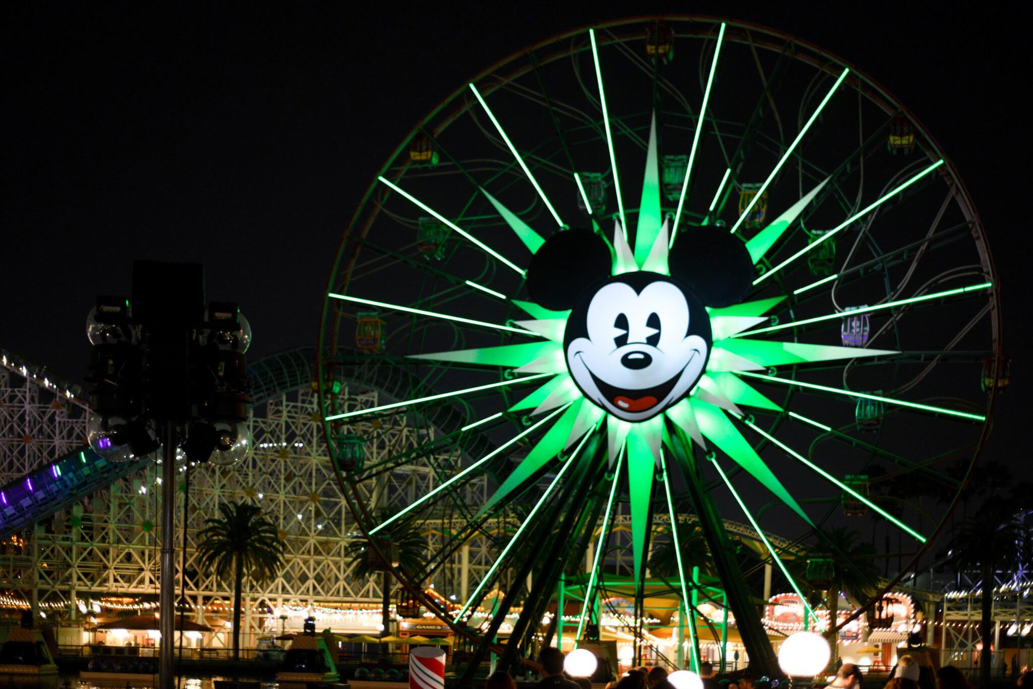 California Adventure Pixar Pal Around Wheel