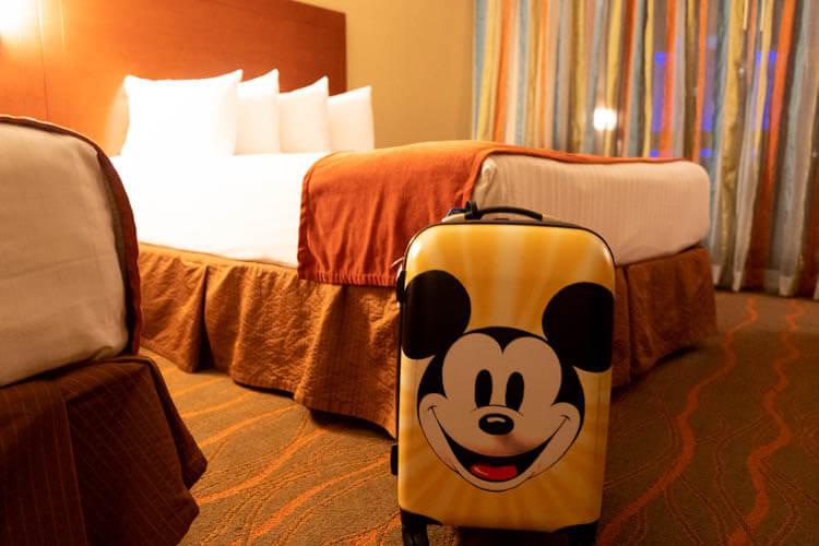 Disney World's Best Western Lake Buena Vista Disney Springs Resort Room and Beds