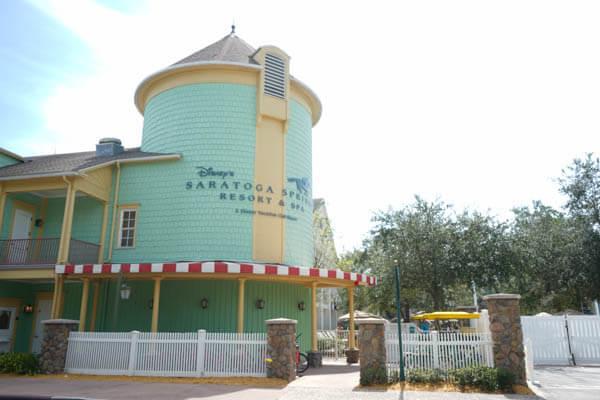 Disney World Saratoga Springs Resort and Spa Pool Building