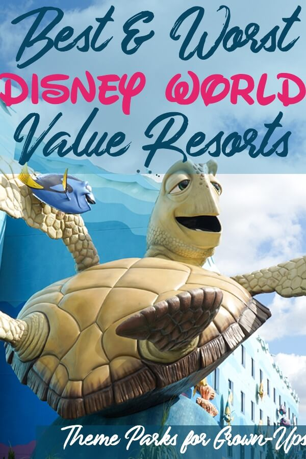 Best and World Disney World Value Resorts Offsite and Onsite Hotels Ranked