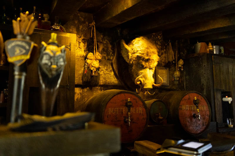 Hog's Head Pub and beer at Wizarding World of Harry Potter in Universal Studios Orlando