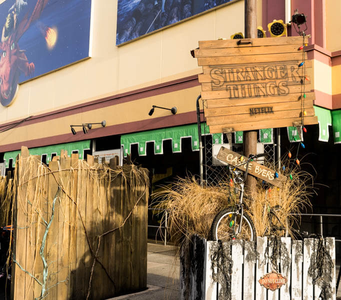 Stranger Things Byers Bike at Universal Orlando Halloween Horror Nights
