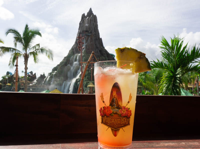 Vols Fire Punch and souvenir cup from Universal Volcano Bay