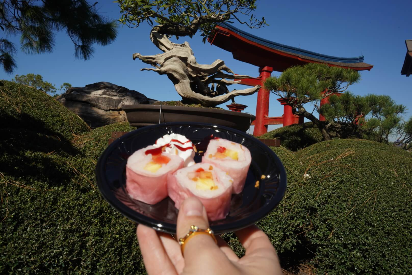 Frushi from Hanami Japan at Epcot Flower and Garden Festival 2019