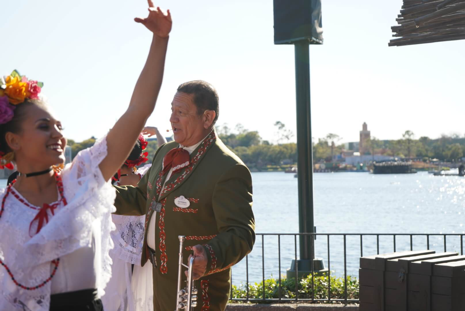 The Story of Coco Music and Puppet Show with Miguel in Mexico at Epcot Flower and Garden Festival