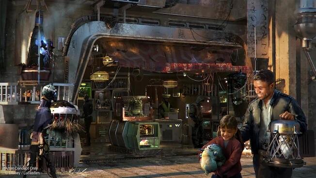 Bina's Creature Stall at Star Wars Galaxy's Edge