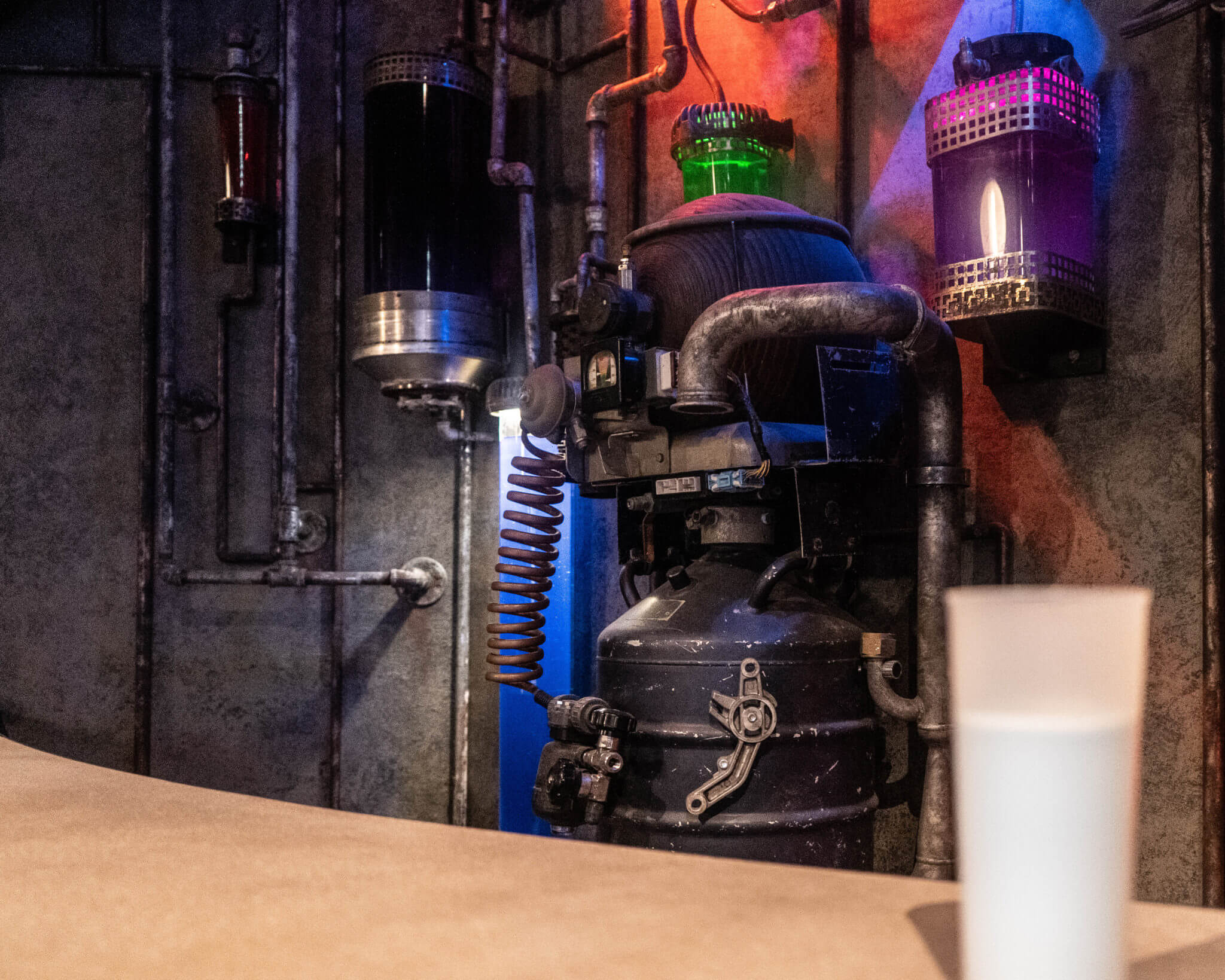Blue Milk Star Wars: Galaxy's Edge at Disney World in Hollywood Studios preview
