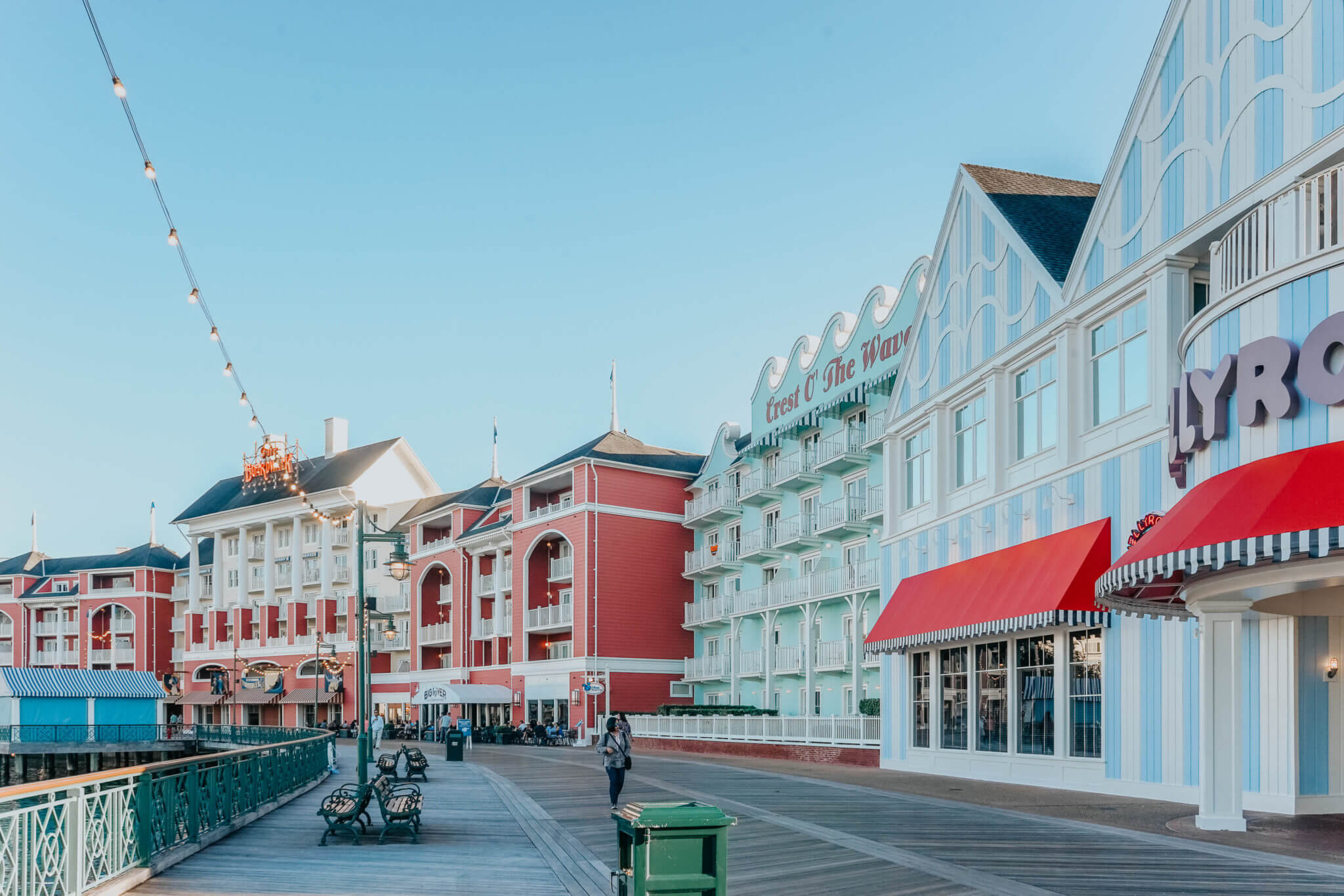 Disney's BoardWalk and Jellyrolls at Disney World