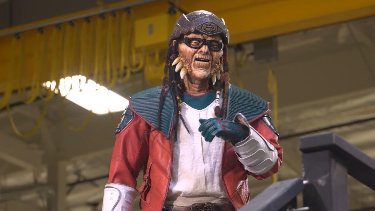 Hondo Ohnaka animatronic at Star Wars: Galaxy's Edge