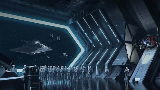 Star Wars Galaxy's Edge Rise of the Resistance Ride