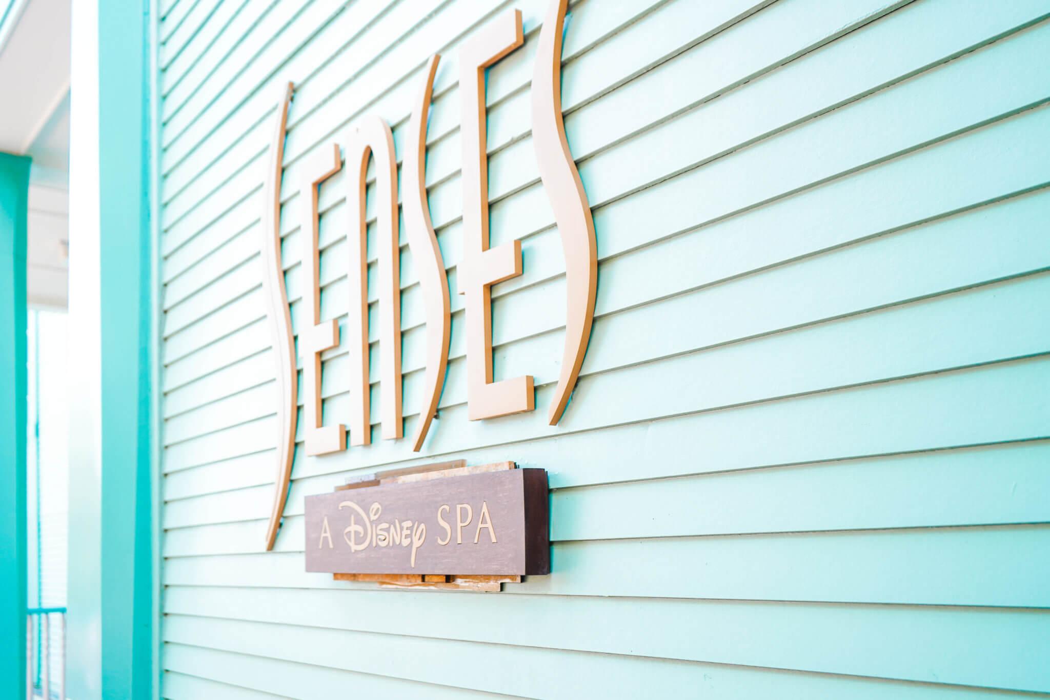Senses Spa Sign at Saratoga Springs in Disney World