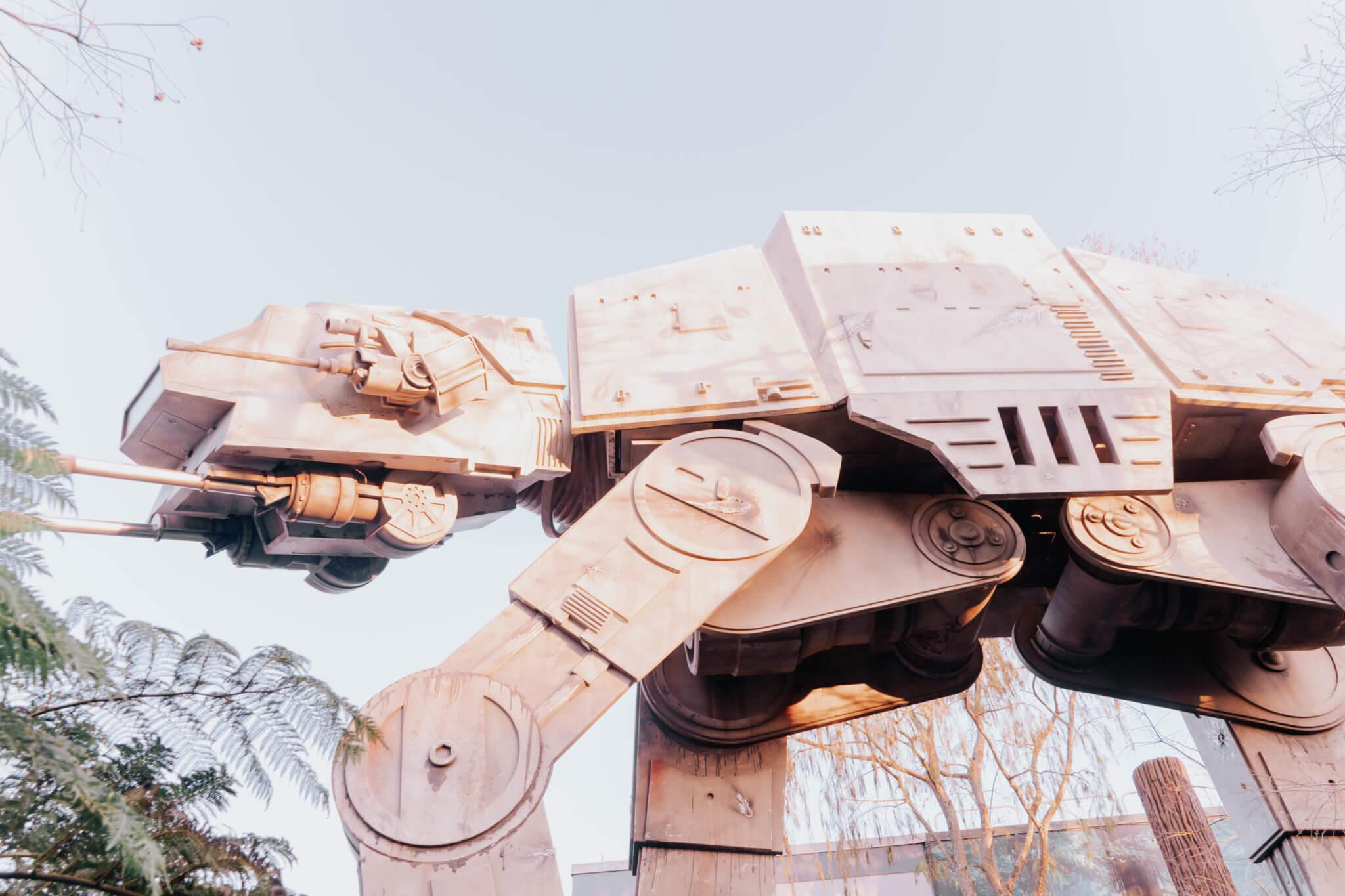 Star Wars AT-AT in Disney World