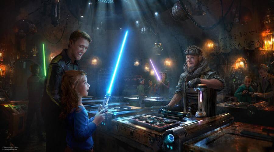Savi's Lightsaber Workshop Star Wars: Galaxy's Edge