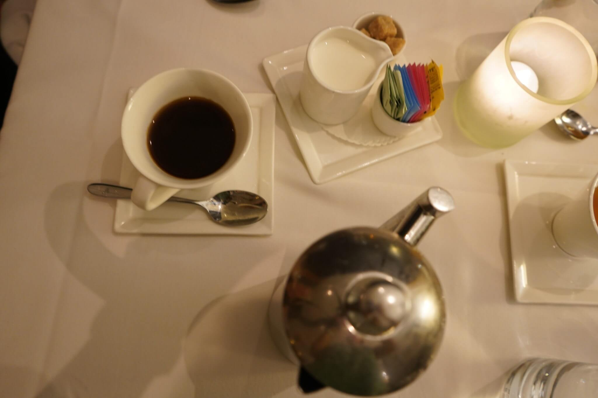 Press Pot Coffee at California Grill in The Contemporary Resort at Disney World