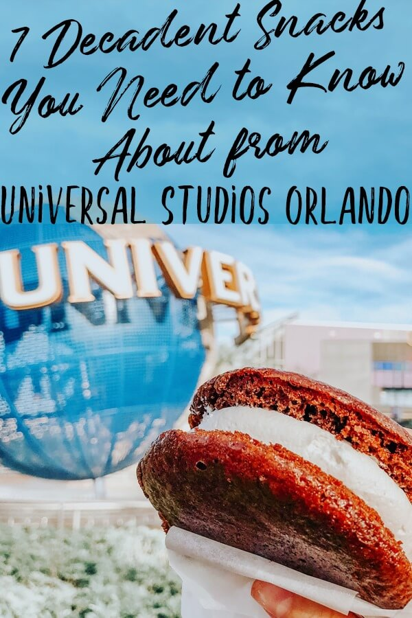 7 Decadent Snacks You Need to Know About From Universal Studios Orlando