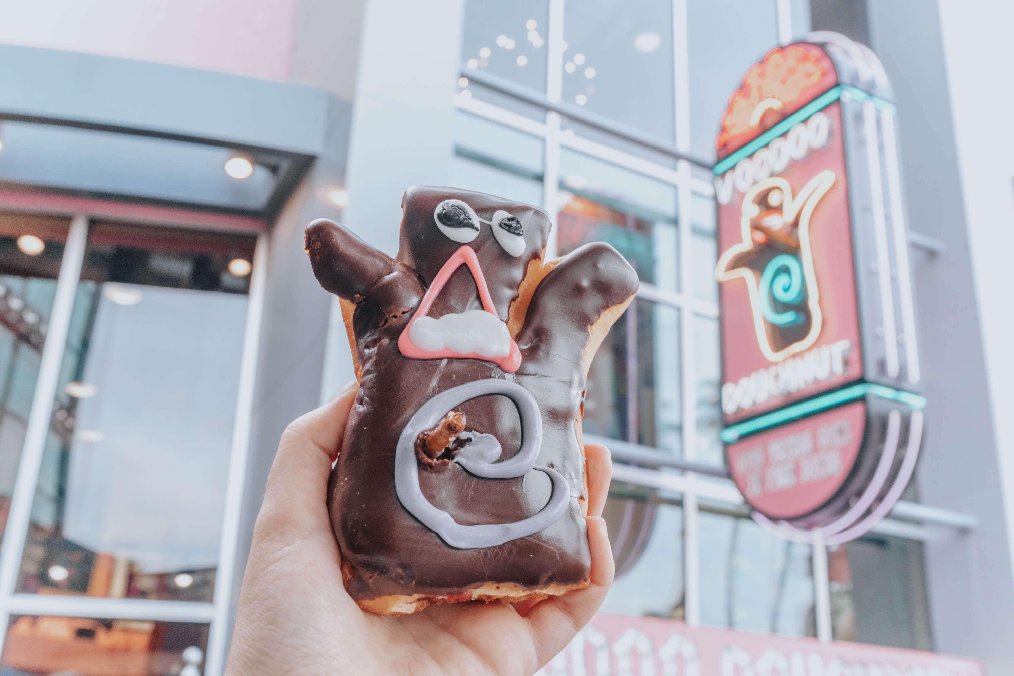 Voodoo Doll Doughnut from Universal Studios Orlando CityWalk