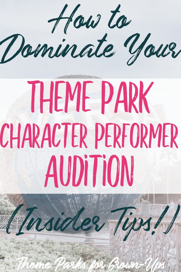 How to Dominate Your Theme Park Character Performer Audition