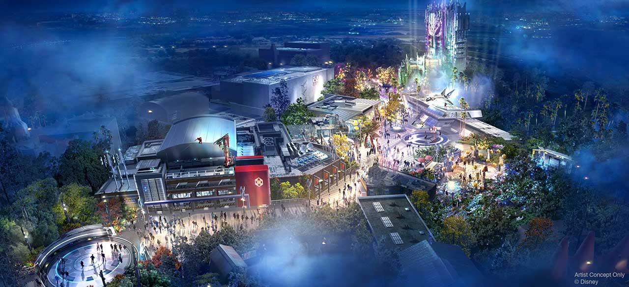 Disneyland Avengers Campus Concept Art 2020