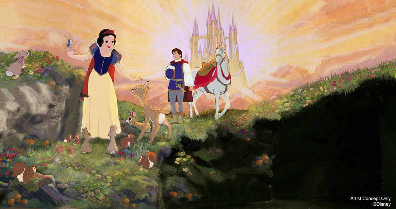 Snow White's Scary Adventures Renovation 2020