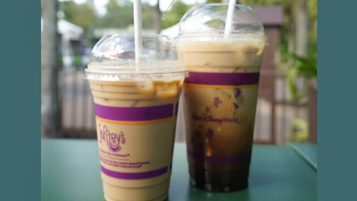 Iced coffee from Joffrey's Coffee at Animal Kingdom