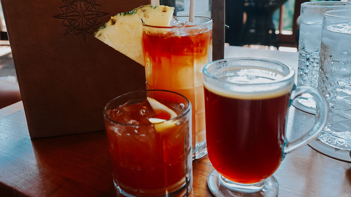 Nomad Lounge Mustang Coffee and cocktails at Animal Kingdom