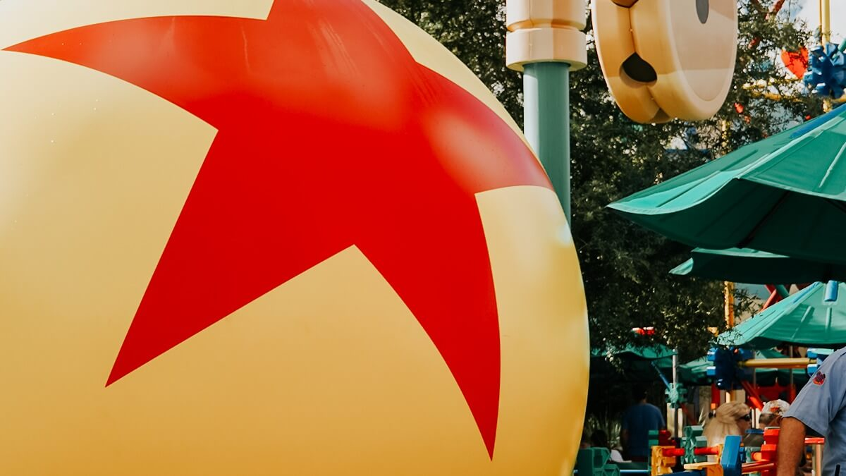 Pixar Ball in Toy Story Land at Hollywood Studios