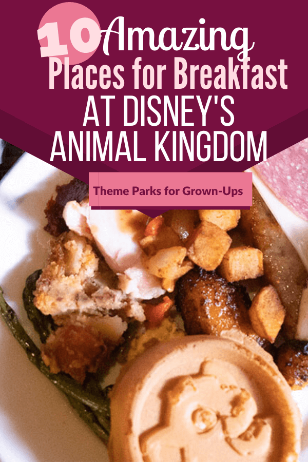 10 Amazing Places to Get Breakfast at Animal Kingdom