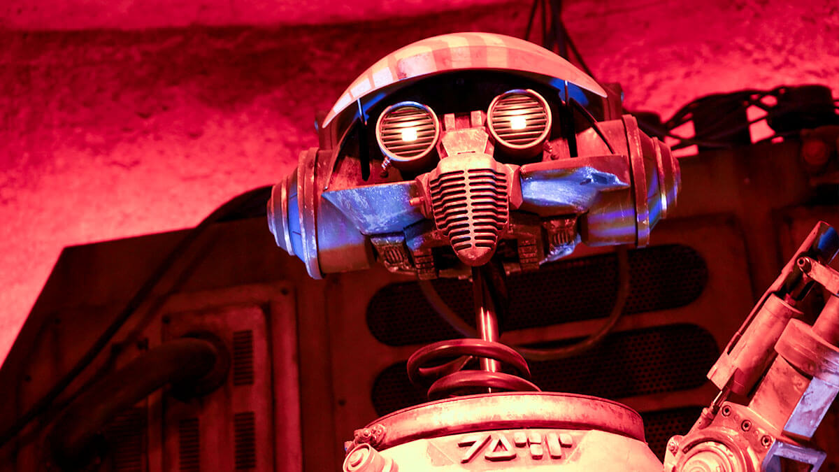 DJ Rex at Oga's Cantina - where to find breakfast at Hollywood Studios
