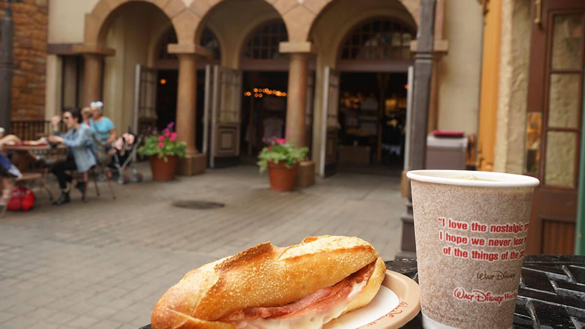 Baguette at Epcot's Les Halles Boulangerie Patisserie
